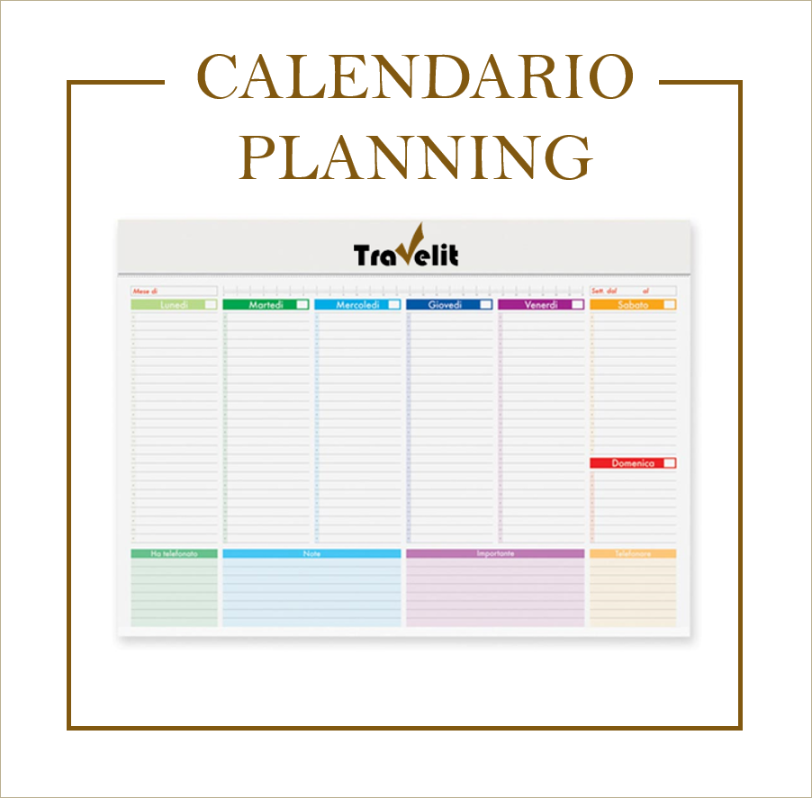 Calendario Planning.Calendario Planning Travel Event Milano Agenzia Incentive