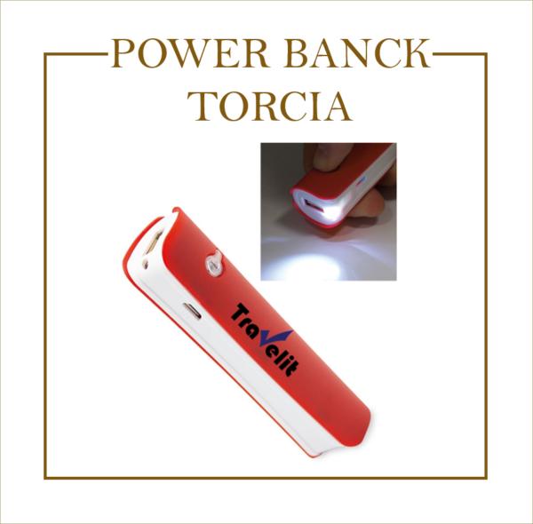 POWER BANCK TORCIA